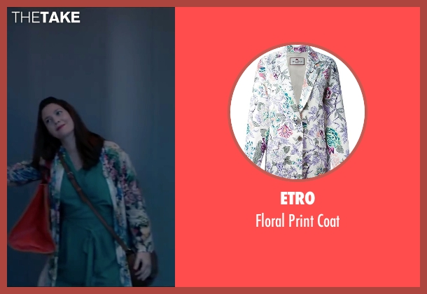 Etro coat from Miss You Already seen with Drew Barrymore (Jess)
