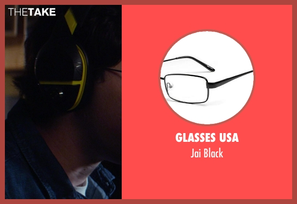 Glasses USA black from Ride Along seen with Drew Goin (Suds31)