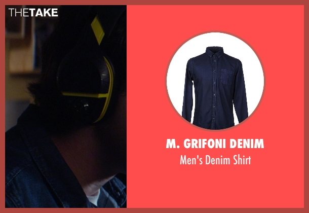 M. Grifoni Denim blue shirt from Ride Along seen with Drew Goin (Suds31)