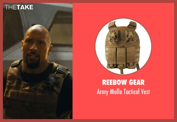 Reebow Gear vest from Fast Five seen with Dwayne Johnson (Luke Hobbs)