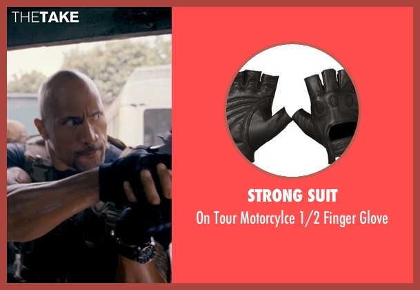 Strong Suit black glove from Fast & Furious 6 seen with Dwayne Johnson (Luke Hobbs)