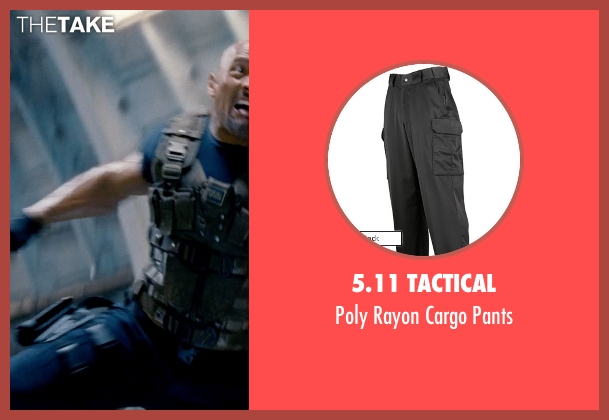 5.11 Tactical black pants from Fast & Furious 6 seen with Dwayne Johnson (Luke Hobbs)
