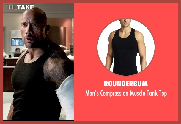Rounderbum black top from Furious 7 seen with Dwayne Johnson (Luke Hobbs)