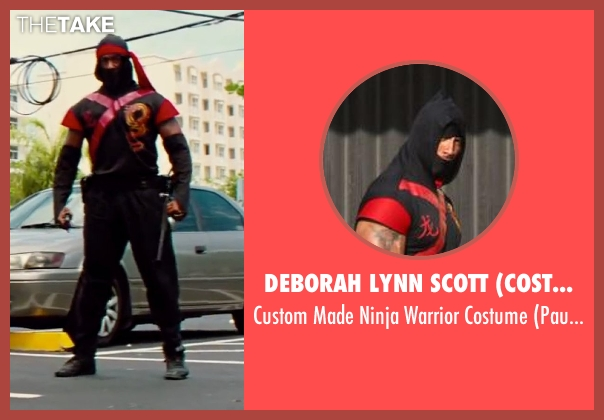 Deborah Lynn Scott (Costume Designer) costume from Pain & Gain seen with Dwayne Johnson (Paul Doyle)