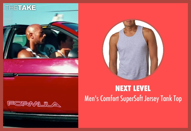 Next Level gray top from Pain & Gain seen with Dwayne Johnson (Paul Doyle)