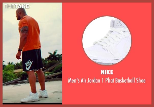 Dwayne Johnson Nike Men's Air Jordan 1 Phat Basketball ...  Dwayne Johnson ...