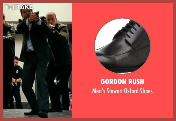 Gordon Rush black shoes from Taken 3 seen with Dylan Bruno (Smith)