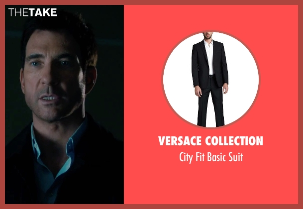 Versace Collection black suit from Survivor seen with Dylan McDermott (Sam Parker)
