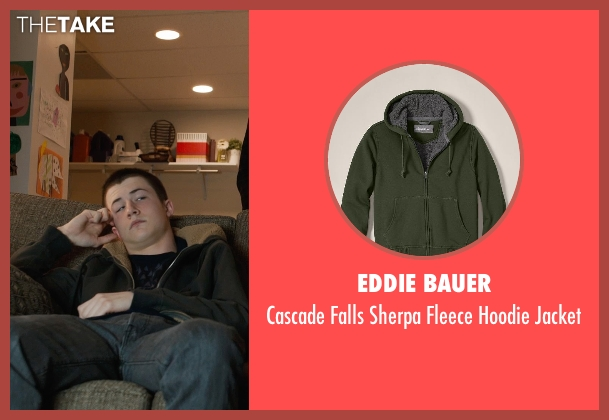 Eddie Bauer green jacket from Prisoners seen with Dylan Minnette (Ralph Dover)