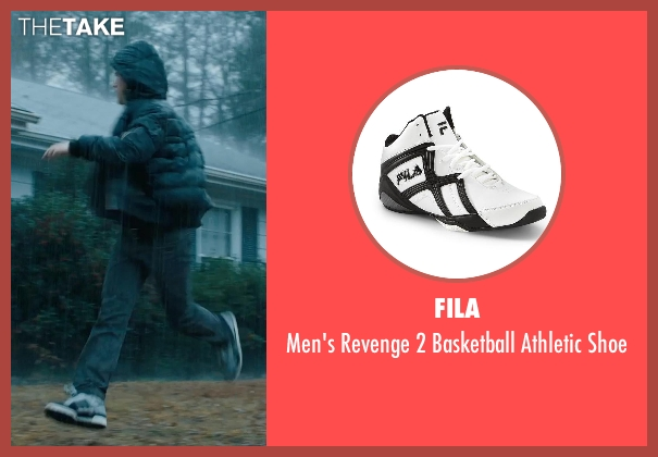 Fila white shoe from Prisoners seen with Dylan Minnette (Ralph Dover)
