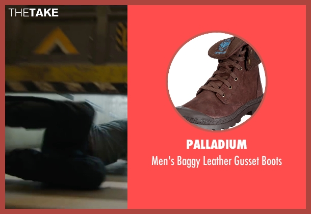 Palladium brown boots from Maze Runner: The Scorch Trials seen with Dylan O'Brien (Thomas)