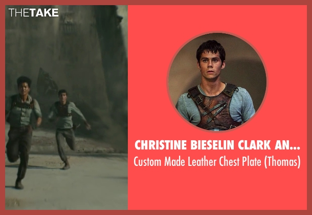 Christine Bieselin Clark and Simonetta Mariano (Costume Designers) plate from Maze Runner: The Scorch Trials seen with Dylan O'Brien (Thomas)