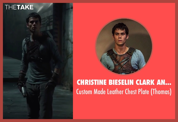 Christine Bieselin Clark and Simonetta Mariano (Costume Designers) plate from The Maze Runner seen with Dylan O'Brien (Thomas)