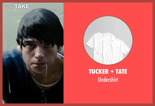 Tucker + Tate undershirt from Man of Steel seen with Dylan Sprayberry (Clark Kent (13 Years))