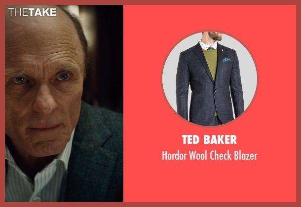 Ted Baker blue blazer from Run All Night seen with Ed Harris (Shawn Maguire)