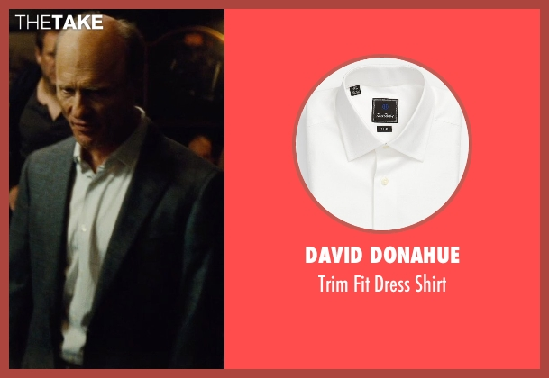 David Donahue white shirt from Run All Night seen with Ed Harris (Shawn Maguire)