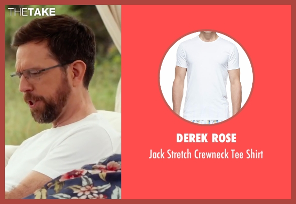 Derek Rose white shirt from Bastards seen with Ed Helms (Peter Reynolds)