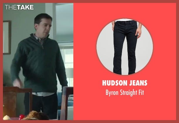 Hudson Jeans black fit from Love the Coopers seen with Ed Helms (Hank)