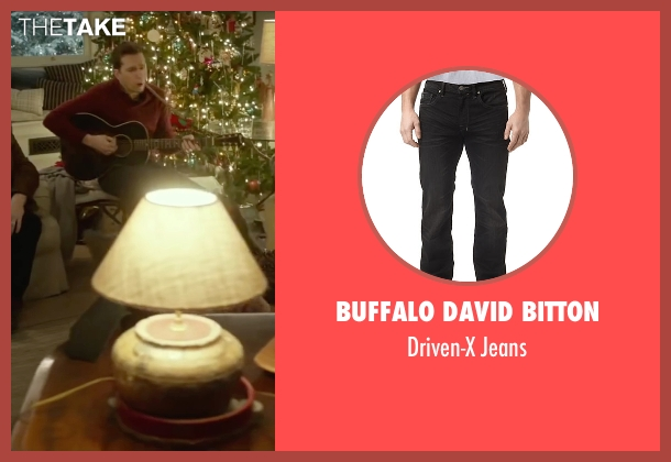 Buffalo David Bitton black jeans from Love the Coopers seen with Ed Helms (Hank)