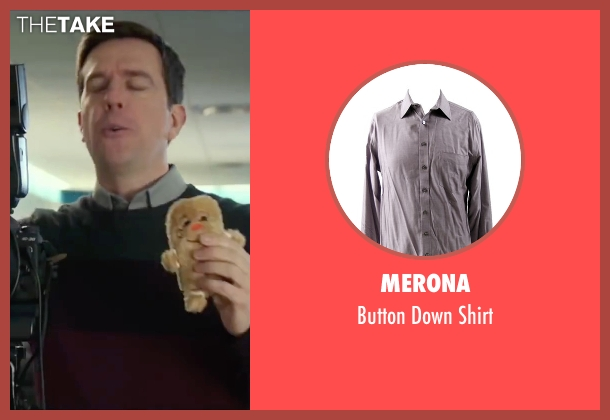 Merona gray shirt from Love the Coopers seen with Ed Helms (Hank)