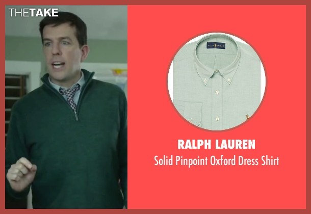 Ralph Lauren green shirt from Love the Coopers seen with Ed Helms (Hank)