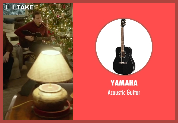 Yamaha guitar from Love the Coopers seen with Ed Helms (Hank)