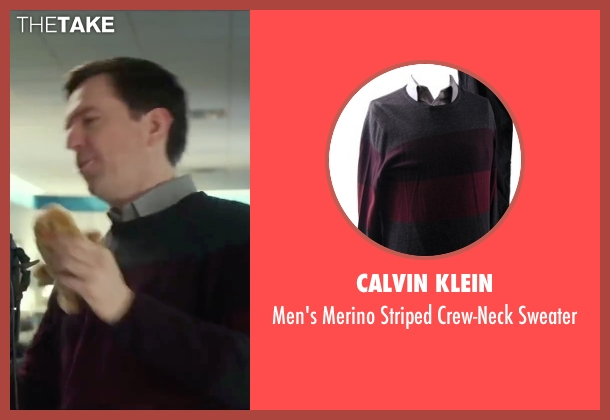 Calvin Klein sweater from Love the Coopers seen with Ed Helms (Hank)