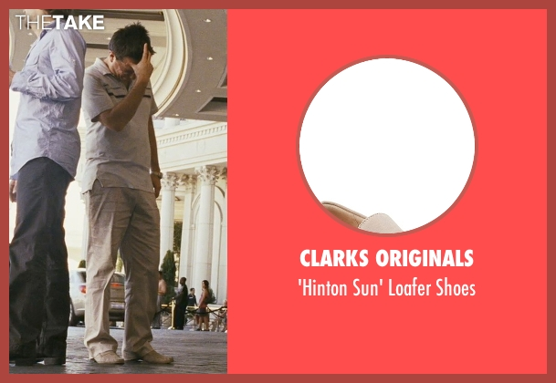 Clarks Originals beige shoes from The Hangover seen with Ed Helms (Stu)
