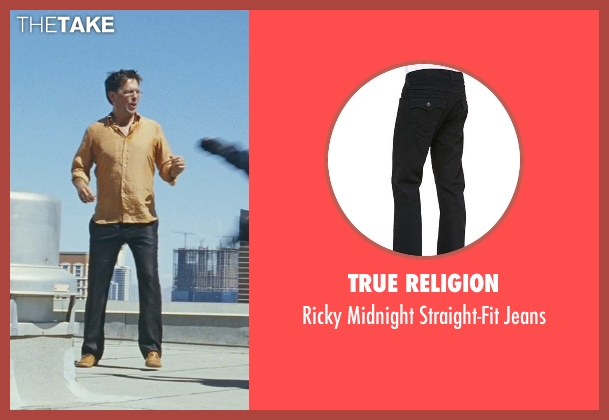 True Religion black jeans from The Hangover seen with Ed Helms (Stu)