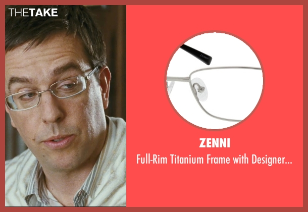 Zenni glasses from The Hangover seen with Ed Helms (Stu)