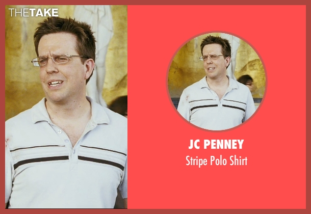 JC Penney white shirt from The Hangover seen with Ed Helms (Stu)