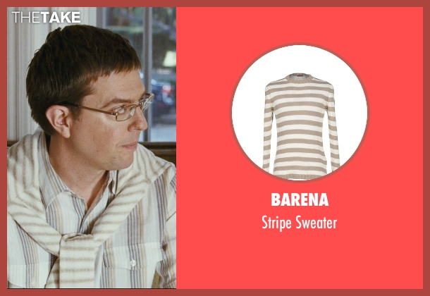 Barena white sweater from The Hangover seen with Ed Helms (Stu)