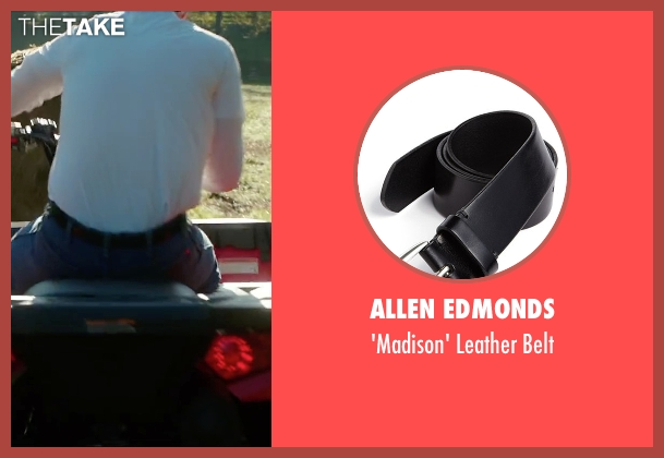 Allen Edmonds black belt from Vacation seen with Ed Helms (Rusty Griswold)