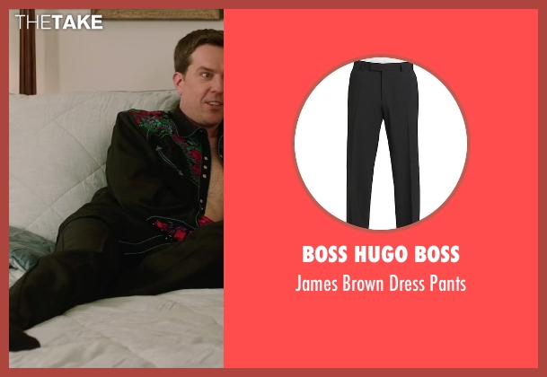 Boss Hugo Boss black pants from Vacation seen with Ed Helms (Rusty Griswold)