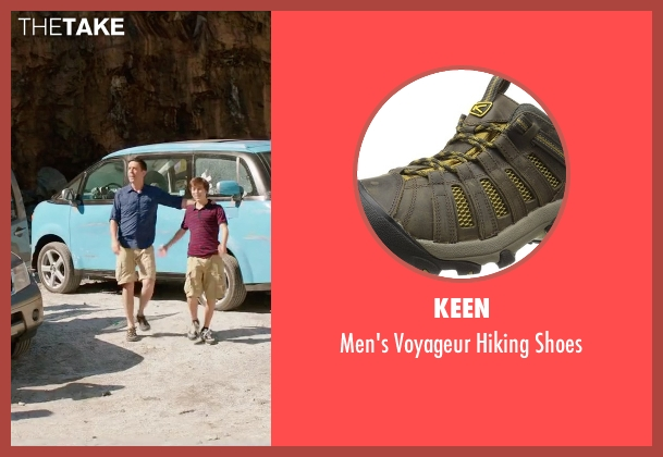 Keen brown shoes from Vacation seen with Ed Helms (Rusty Griswold)