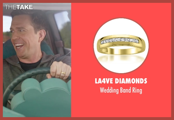 La4ve Diamonds ring from Vacation seen with Ed Helms (Rusty Griswold)