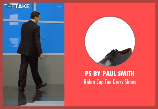 PS by Paul Smith black shoes from We're the Millers seen with Ed Helms (Brad Gurdlinger)