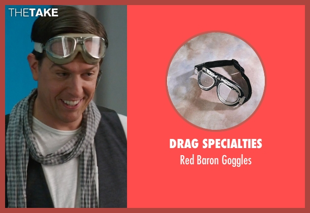 Drag Specialties goggles from We're the Millers seen with Ed Helms (Brad Gurdlinger)