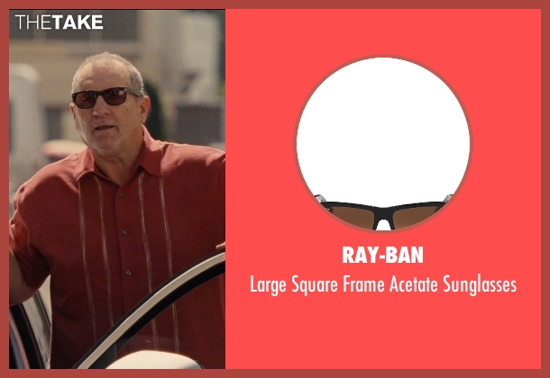 Ray-Ban brown sunglasses from Entourage seen with Ed O'Neill (Unknown Character)