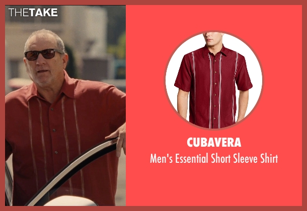 Cubavera red shirt from Entourage seen with Ed O'Neill (Unknown Character)