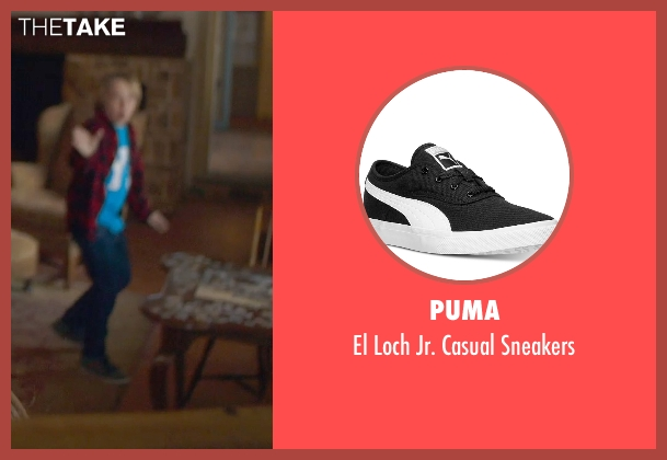 Puma black sneakers from The Visit seen with Ed Oxenbould (Unknown Character)