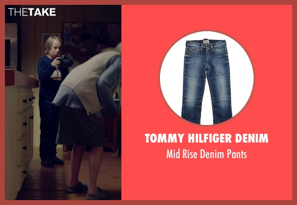 Tommy Hilfiger Denim blue pants from The Visit seen with Ed Oxenbould (Unknown Character)