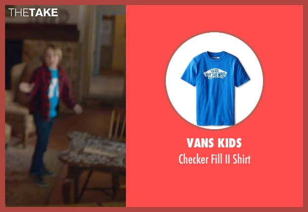 Vans Kids blue shirt from The Visit seen with Ed Oxenbould (Unknown Character)