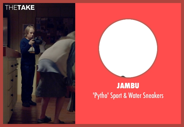 Jambu blue sneakers from The Visit seen with Ed Oxenbould (Unknown Character)