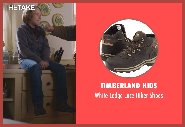 Timberland Kids brown shoes from The Visit seen with Ed Oxenbould (Unknown Character)