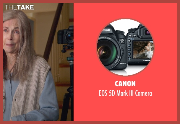 Canon camera from The Visit seen with Ed Oxenbould (Unknown Character)