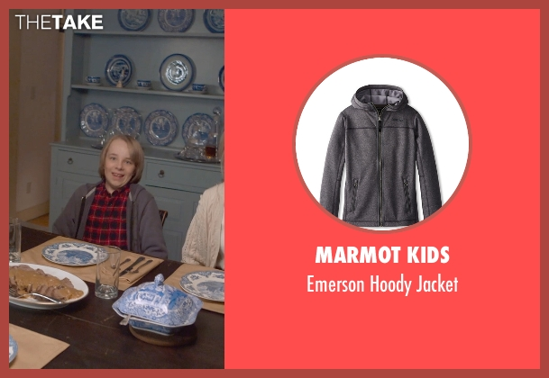 Marmot Kids gray jacket from The Visit seen with Ed Oxenbould (Unknown Character)