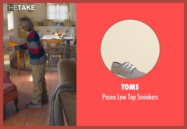 Toms gray sneakers from The Visit seen with Ed Oxenbould (Unknown Character)