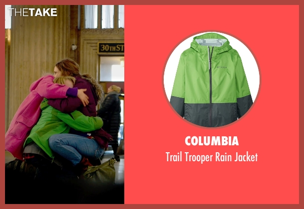 Columbia green jacket from The Visit seen with Ed Oxenbould (Unknown Character)