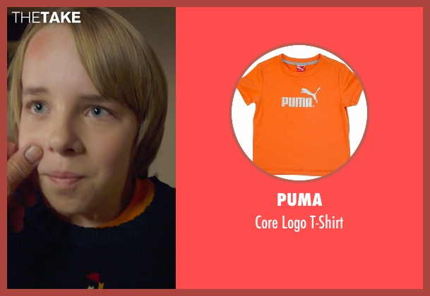 Puma orange t-shirt from The Visit seen with Ed Oxenbould (Unknown Character)